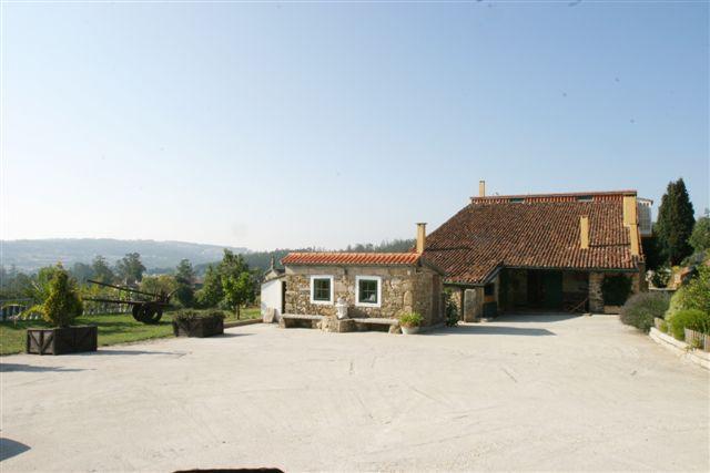 Casa rural en vedra as seis chemineas galicia for Casa rural mansion terraplen seis